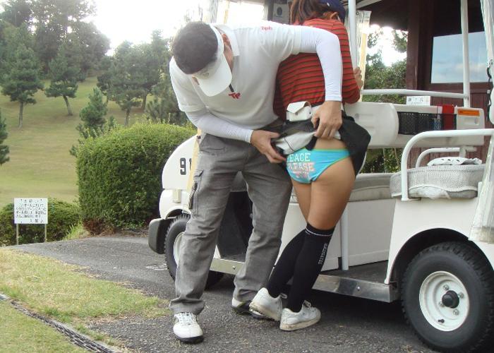 【悪戯】ゴルフ場で巨乳キャディをナンパした結果wwwwwwwwwwwwww(画像あり)・16枚目