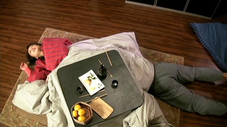 【家庭内エロ画像】コタツから出たくないエロい女が撮影されるwwwww(画像あり)・3枚目