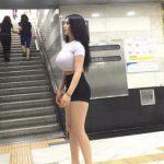 韓国女性のパツンパツンの着衣巨乳、セックスしたいレベルwwwwwwwwww(画像19枚)