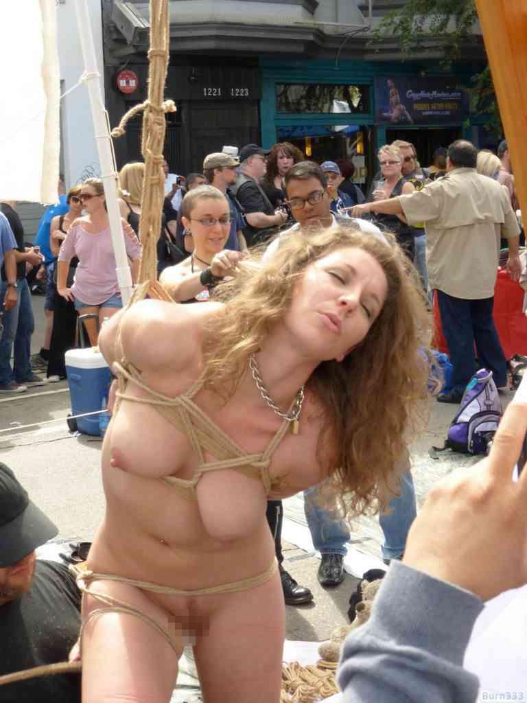 【批判殺到】街中で行われたSMイベントがエロ過ぎる・・・(画像40枚)・30枚目