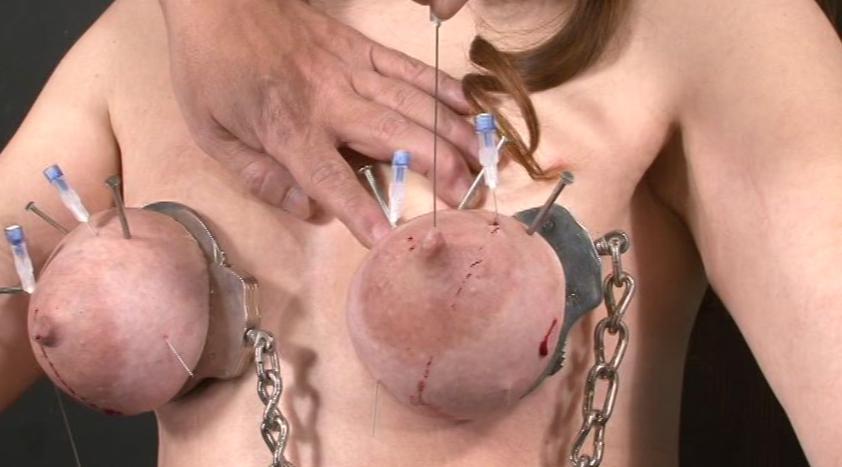 【閲覧注意】乳首やクリトリスを針で貫通させられた女性の反応が怖すぎてワロエナイ・・・・・・32枚目