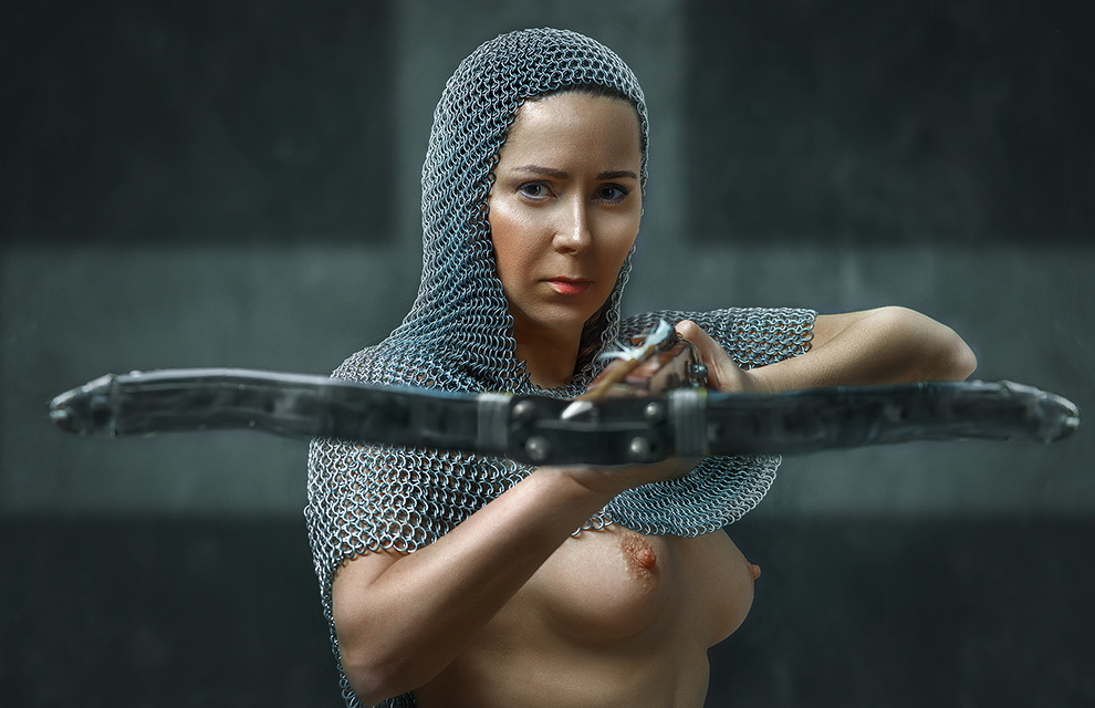 【画像あり】「甲冑ヌード」とかいう甲冑とエロを融合した鎧女をご覧くださいwwwww・13枚目