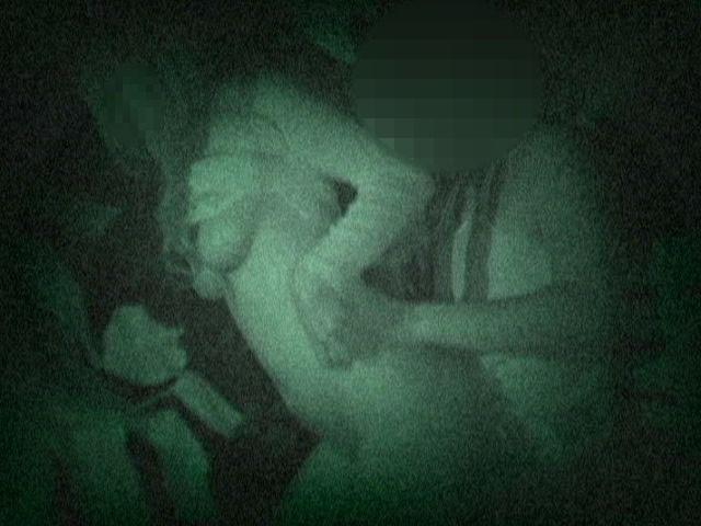 野外セックス 赤外線カメラ 画像010