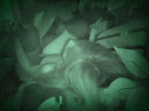 野外セックス 赤外線カメラ 画像028