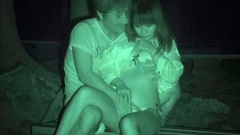 野外セックス 赤外線カメラ 画像005