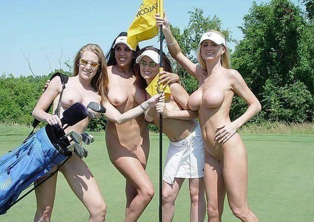 密かに開催されるお金持ち向け全裸ゴルフをご覧くださいwwwwwwwwww(画像あり)・31枚目