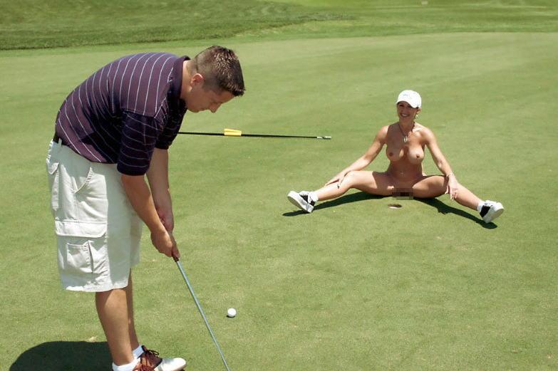 密かに開催されるお金持ち向け全裸ゴルフをご覧くださいwwwwwwwwww(画像あり)・33枚目