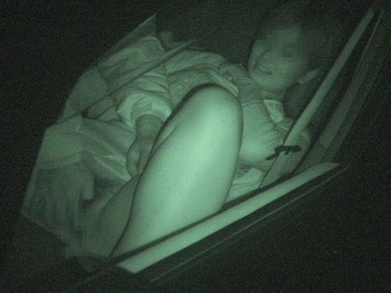 カーセックス 赤外線カメラ 画像013