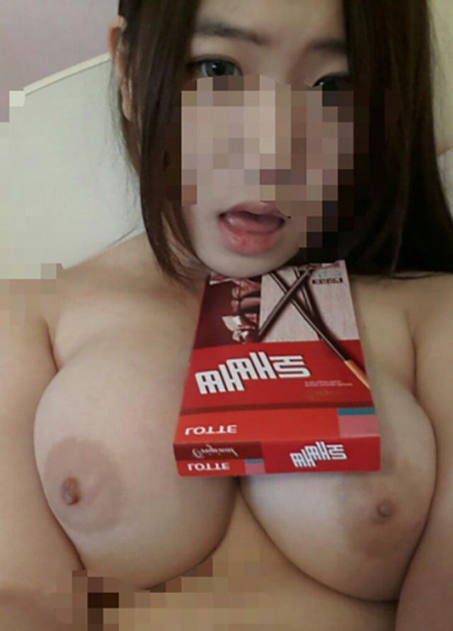 貧乳が多い韓国の貴重な巨乳娘たちの自撮り画像集 40枚・12枚目