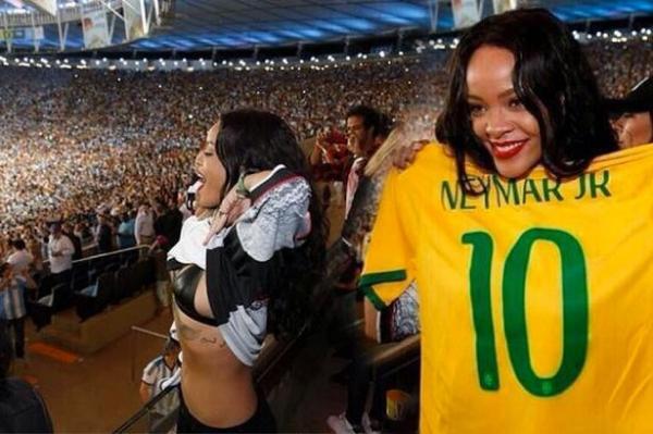 海外サッカーの美女サポーター、おっぱいポロリしても気づかないwwwwwwwwwwww(画像あり)・7枚目