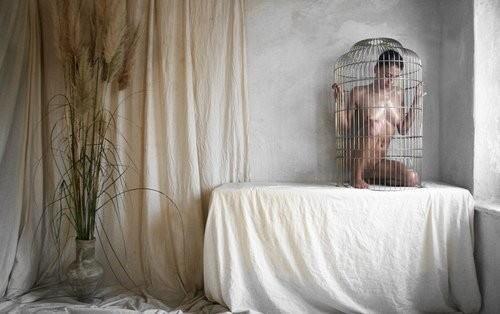 【悲報】鳥かごで飼育されてる女たちをご覧ください(32名)・31枚目