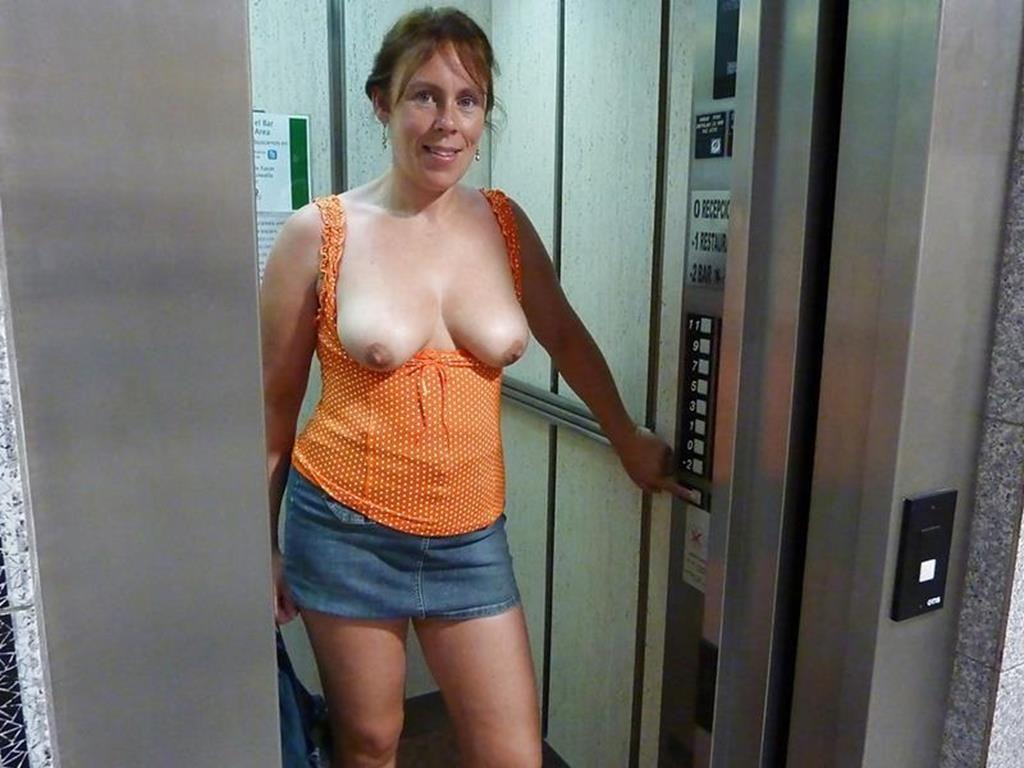 【露出狂】エレベーター開いたらこの状態だった時wwwwwww(画像32枚)・8枚目