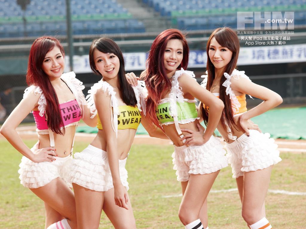 【GIFあり】台湾チア、乳ユッサユサすぎてワロタwwwwwwwwwwww・6枚目