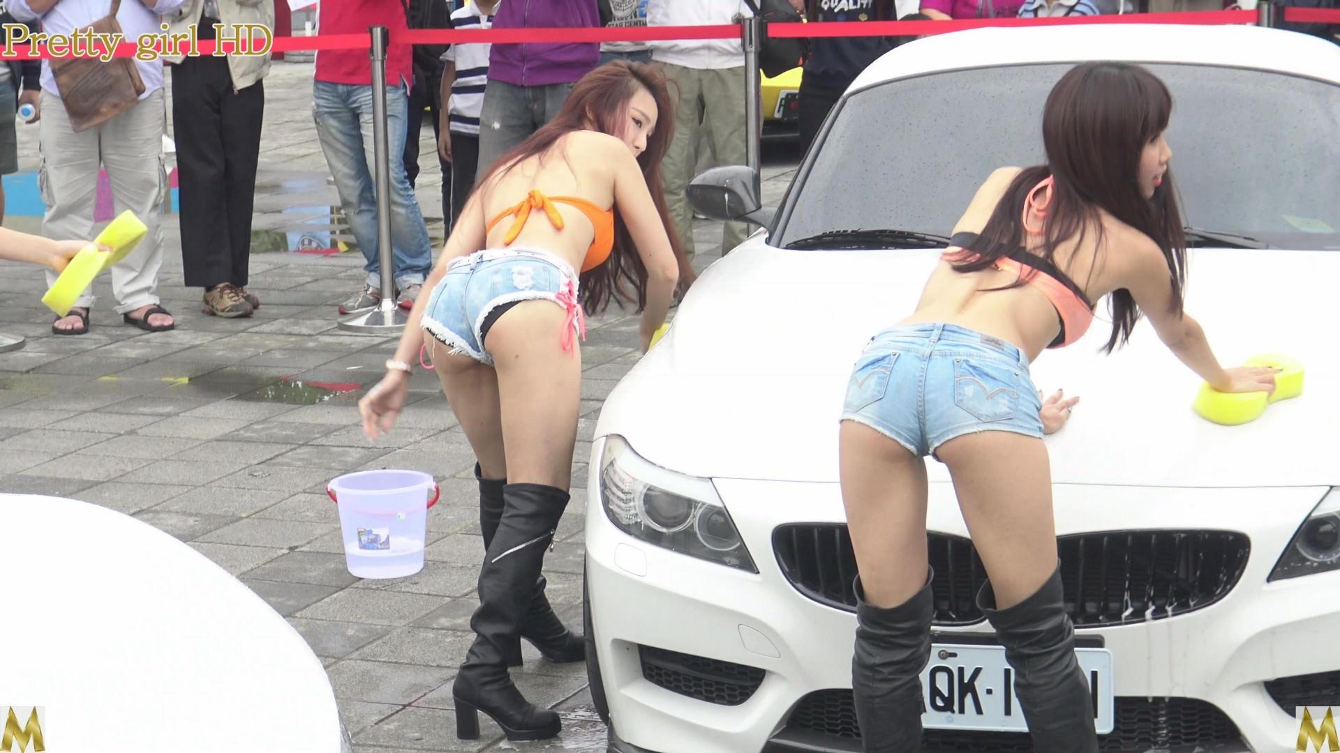 女体洗車とかいう変わったセクシーサービスが神杉wwwwwwww(画像あり)・22枚目