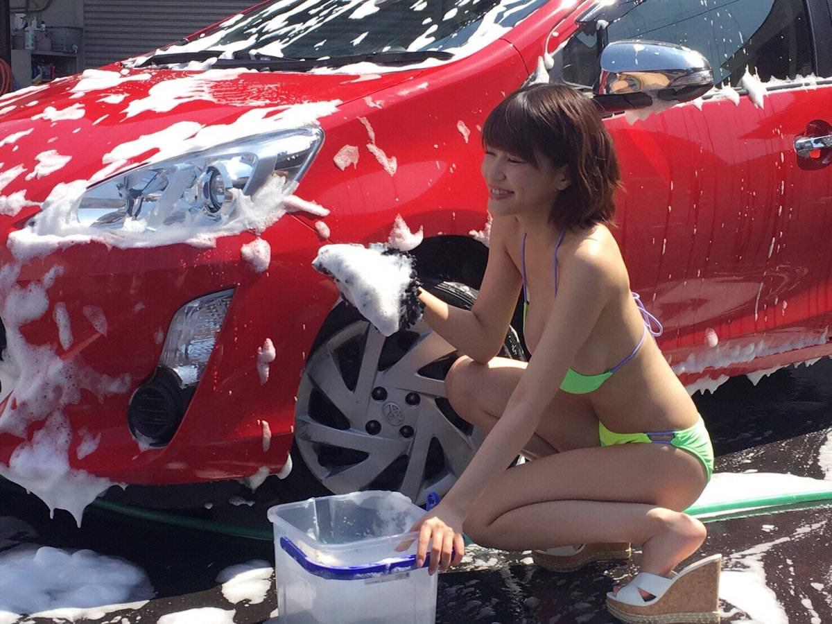 女体洗車とかいう変わったセクシーサービスが神杉wwwwwwww(画像あり)・26枚目