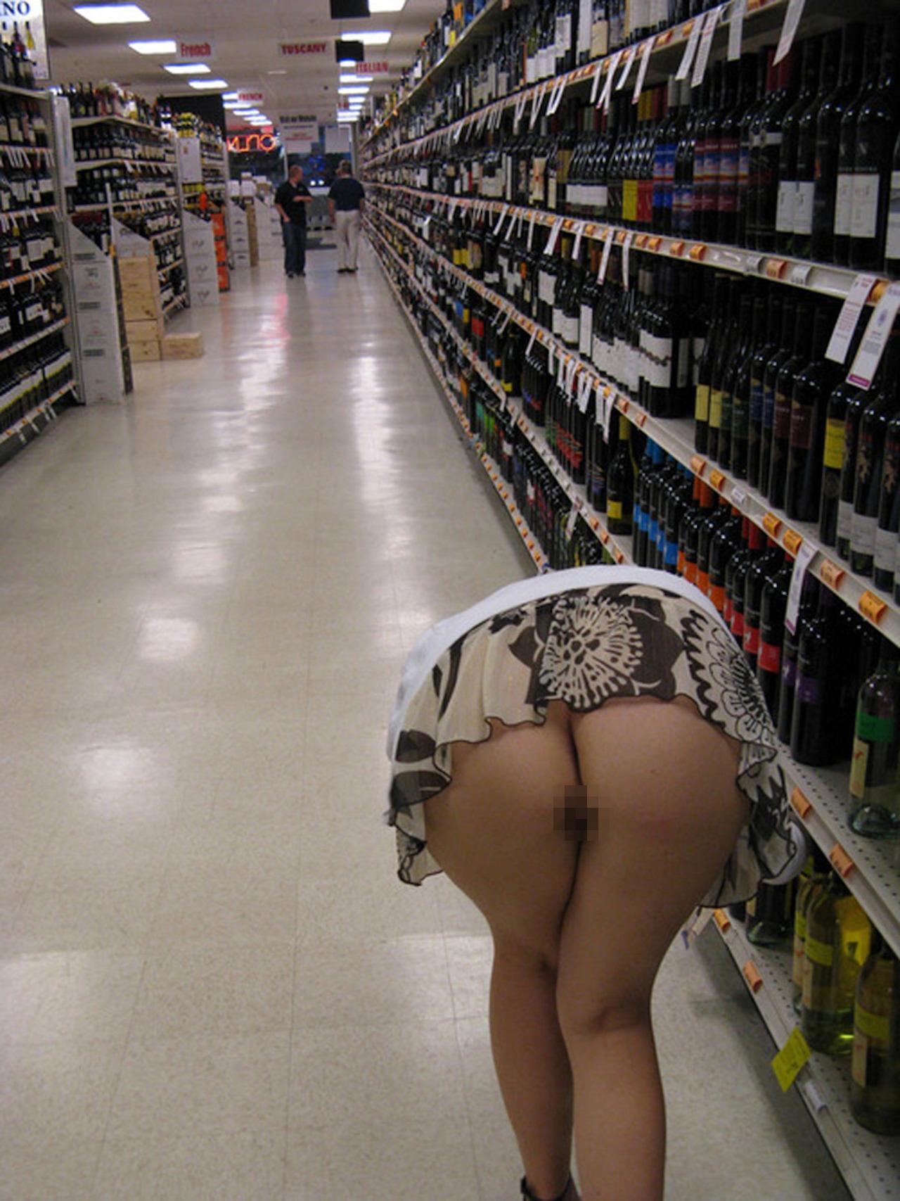 際スーパーで挑発してくるパンチラ女、、思ったよりイける。(28名)・17枚目