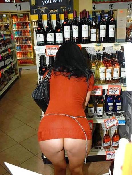 際スーパーで挑発してくるパンチラ女、、思ったよりイける。(28名)・19枚目