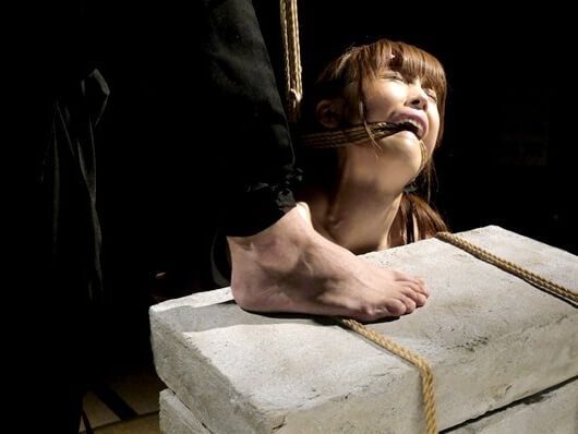 石抱き拷問とかいうとかいう拷問プレイをされた結果・・・(画像あり)・24枚目