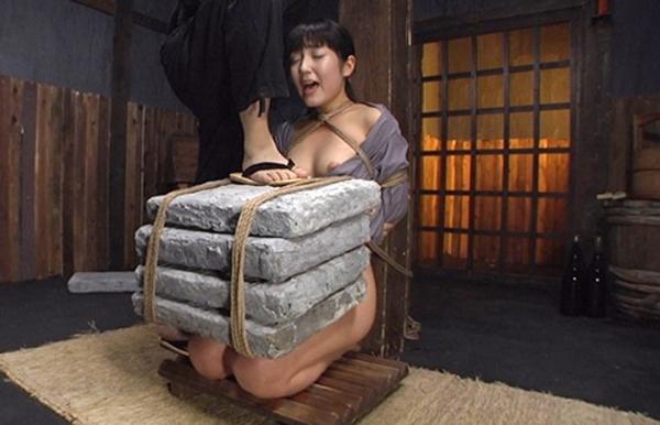 石抱き拷問とかいうとかいう拷問プレイをされた結果・・・(画像あり)・7枚目