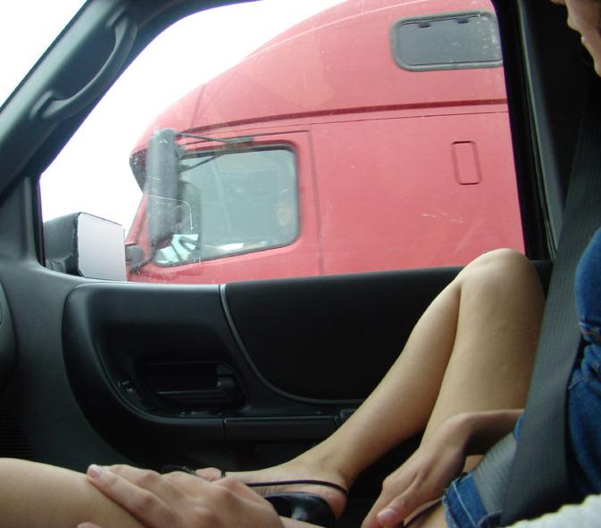渋滞中のヘンタイ女の過ごし方をご覧くださいwwwww(画像あり)・23枚目