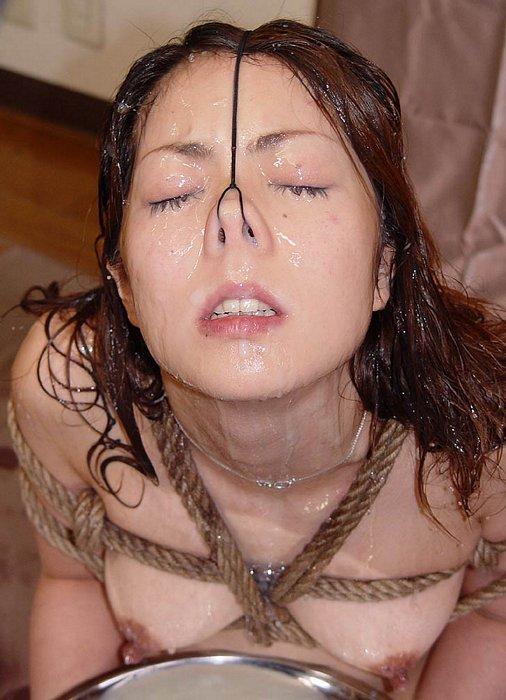 鼻フックされたまま顔射されてアヘる淫乱さよ・・・・・(画像26枚)・24枚目