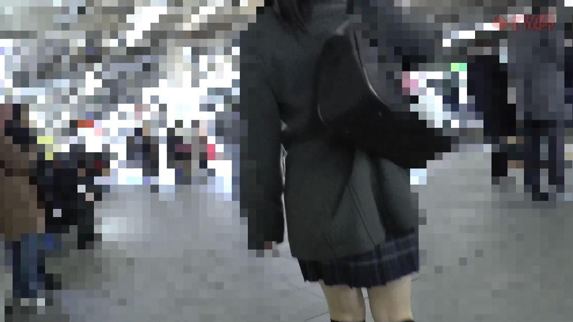 【※盗撮】清純JKさんの盗撮からの顔射があまりにもヒドイ映像。。・4枚目