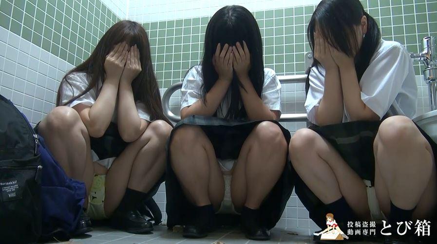 【※衝撃】3人の制服女子にフェラさせる問題の映像をご覧ください。(動画)・10枚目