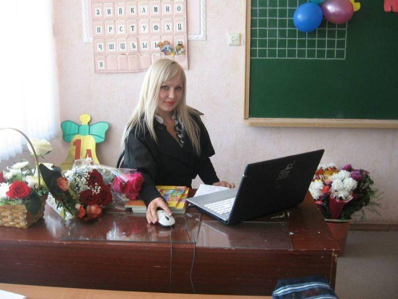 授業参観でお父さんが集まるロシアの女教師の画像集(34枚)・10枚目