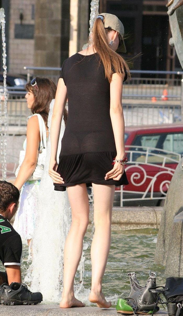 夏になると街中で見かける透けファッション、さすがに過激すぎるwwwww(画像あり)・9枚目