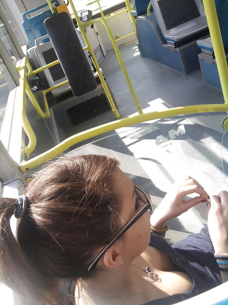 電車内で無防備すぎるおっぱいを撮影した画像。ガチの天国やったwwwwww(36枚)・14枚目