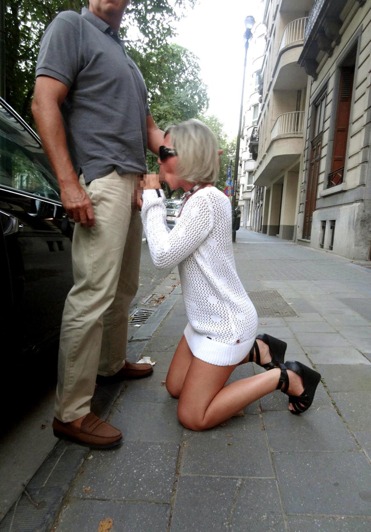 逮捕覚悟で街中で公然とフェラ営業する女wwwwwwwww(画像31枚)・17枚目