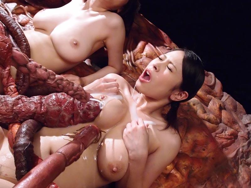 【ドン引き】二次元の触手姦を三次元で再現してみたらこうなる・・・・・(画像29枚)・27枚目