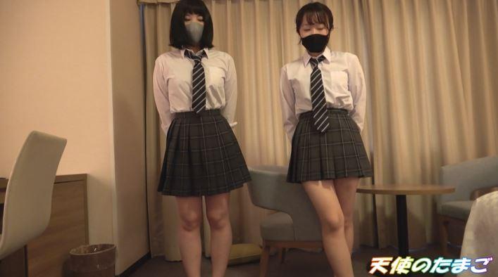 【乱交】2人の可愛い制服女子を交互に生挿入するこの動画ヤバいやろぉwwwww・2枚目