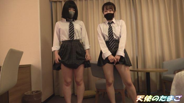 【乱交】2人の可愛い制服女子を交互に生挿入するこの動画ヤバいやろぉwwwww・3枚目