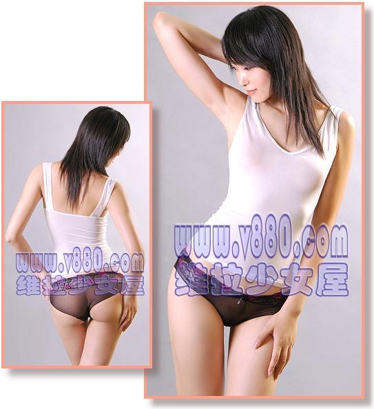 エロ格好の女性下着モデルたち。色々丸出しwwwwwww(画像31枚)・4枚目